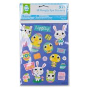 f6d270dce3e23 Easter -wal-mart Googly Eye Stickers