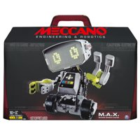Meccano by Erector M.A.X Robotic Interactive Toy with Artificial Intelligence, STEM Building Set for Ages 10 and Up