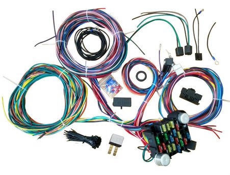wiring harness21 circuit wiring harness street universal wire door locks radio power windows