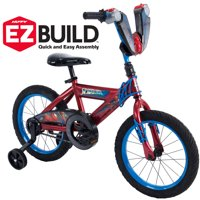 "Marvel Spider-Man 16"" EZ Build Red Bike, by Huffy"