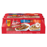 Purina ALPO Gravy Cravers Adult Wet Dog Food Variety Pack - (12) 13.2 oz. Cans