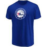 2cd8a3138 Men s Majestic Royal Philadelphia 76ers Victory Century T-Shirt