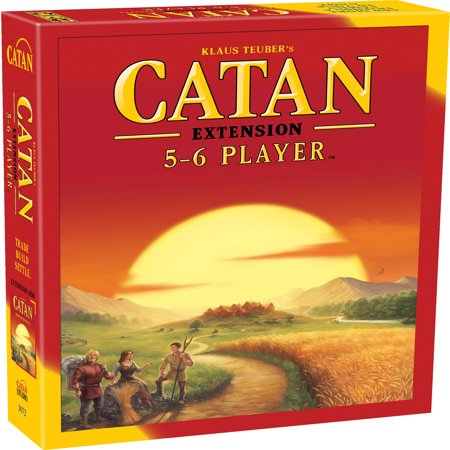 - Catan: 5-6 Player Extension Strategy Board Game
