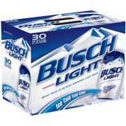 Busch Light Beer, 30 pack, 12 fl oz