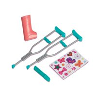 My Life As Dolls Crutches & Cast Accessory Set