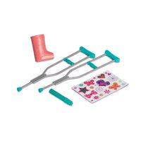 My Life As Dolls Crutches & Cast Accessory Set