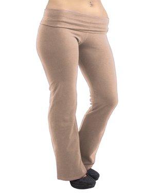 Vivian's Fashions Yoga Pants - Extra Long, Misses Size (Magenta, 4X)