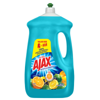 Ajax Ultra Triple Action Liquid Dish Soap, Bleach Alternative Citrus Berry Splash - 90 fl oz