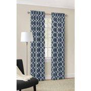Mainstays Calix Fashion Window Curtain, Set of 2