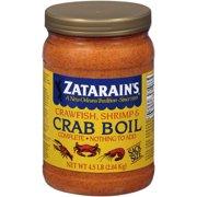 Zatarain's Crawfish, Shrimp & Crab Boil, 73 oz