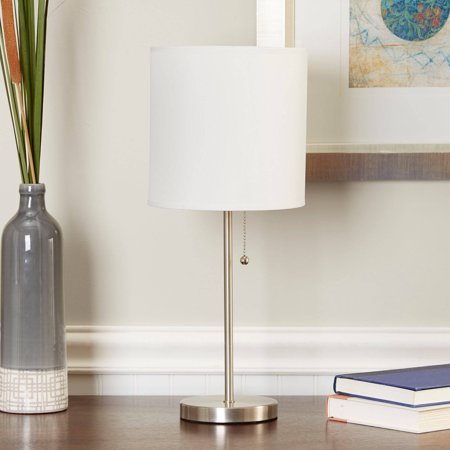 Mainstays Stick Table Lamp with Shade, CFL Bulb Included ()