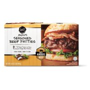 Sam's Choice Black Angus Seasoned Beef Patties, 6 ct, 2 lb