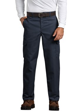Men's Relaxed Fit Flat Front Cargo Pant