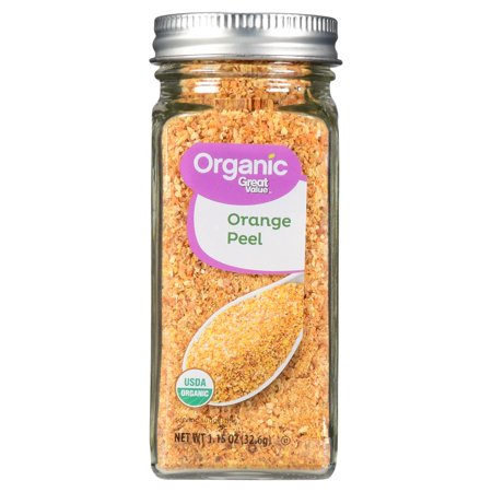 (15 Pack) Great Value Organic Orange Peel, 1.15