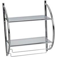 Neu Home® 2 Tier Mounting Shelf with Towel Bars