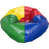"""X Rocker 96"""" Round Vinyl Shiny Bean Bag, Available in Multiple Colors"""