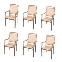 Mainstays Sand Dune Dining Chairs, Set of 6