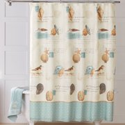 Better Homes Gardens Coastal Collage Fabric Shower Curtain