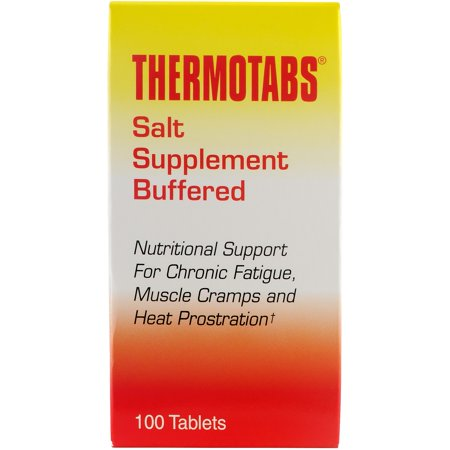 Thermotabs Salt Supplement Buffered Tablets, 100 ea Cell Salts 1000 Tablets