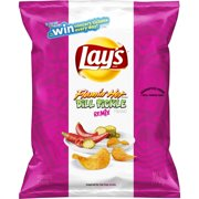 Lay's Flamin' Hot Dill Pickle Remix Flavored Potato Chips, 2.75 oz Bag