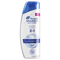 Head and Shoulders Classic Clean Anti-Dandruff 2 in 1 Shampoo and Conditioner, 8.45 fl oz