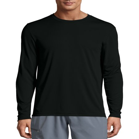 Sport Mens Cool DRI Performance Long Sleeve Tshirt (50+ UPF)