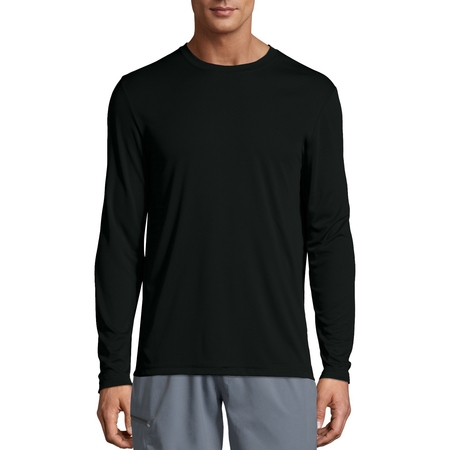 Sport Mens Cool DRI Performance Long Sleeve Tshirt (50+ UPF) (uv swim shirts for men)