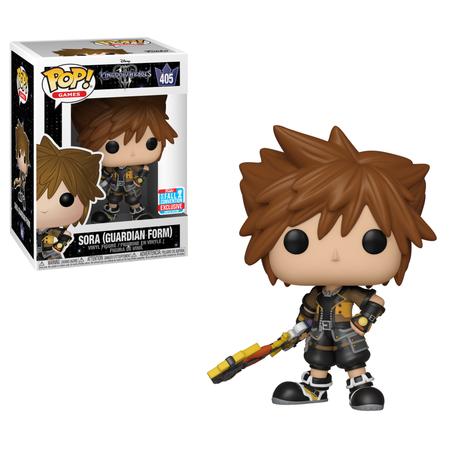 Funko POP Disney: Kingdom Hearts 3 - Sora (Guardian Form) - NYCC Exclusive](Kingdom Hearts Keyblades)