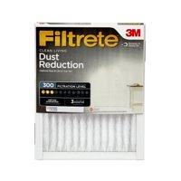 Filtrete 16x25x1, Clean Living Dust Reduction HVAC Furnace Air Filter, 300 MPR, 1 Filter