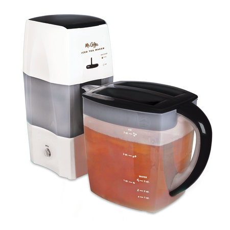 Mr. Coffee 3 Quart Black Iced Tea (Shut Off Iced Tea Maker)