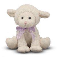 Melissa & Doug Meadow Medley Lamby, Stuffed Animal Baby Lamb