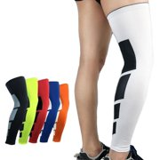 d19298556f Compression Leg Sleeves Knee Brace for Sports, Running, Basketball, Calf  Knee Pain Relief