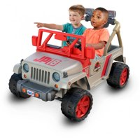 Power Wheels Jurassic Park Jeep Wrangler Ride-On Vehicle