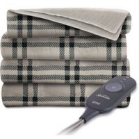 Sunbeam Electric Heated Throw Blanket | Fleece, 3 Heat Settings