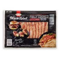 Hormel Black Label Fully Cooked Bacon, 9.5 Ounce