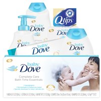 Baby Dove Complete Care Bath Time Essentials Gift Set 6 pc