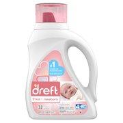 Dreft Stage 1: Newborn Baby Liquid Laundry Detergent, 32 Loads 50 fl oz