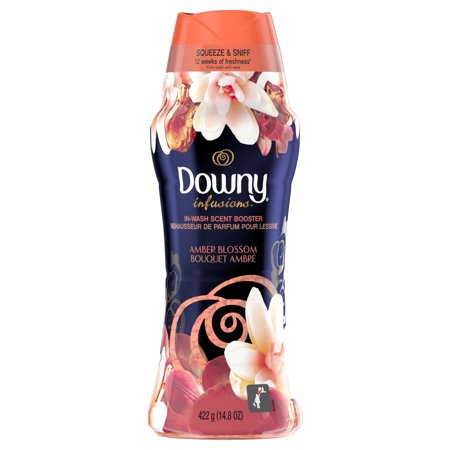 Downy Infusions In Wash Scent Booster Beads Amber Blossom