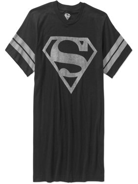 Superman Men's Logo Graphic Tee, up to Size 3XL
