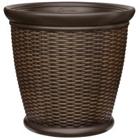 "Better Homes and Gardens 22"" Wicker Planter"