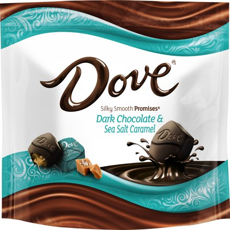 Dove Promises, Sea Salt And Caramel Dark Chocolate Candy, 7.61 Ounce