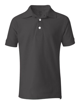 French Toast Boys 8-20 Short-Sleeve Pique Polo Navy 8
