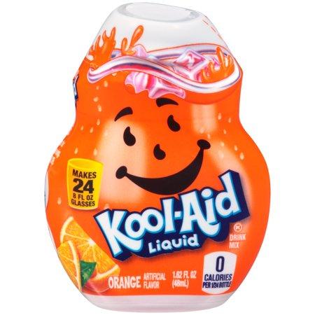 Kool-Aid Orange Liquid Drink Mix 1.62 fl oz (Orange Juice And Water To Lose Weight)