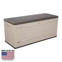 Lifetime 130-Gallon Outdoor Deck Storage Box, Desert Sand