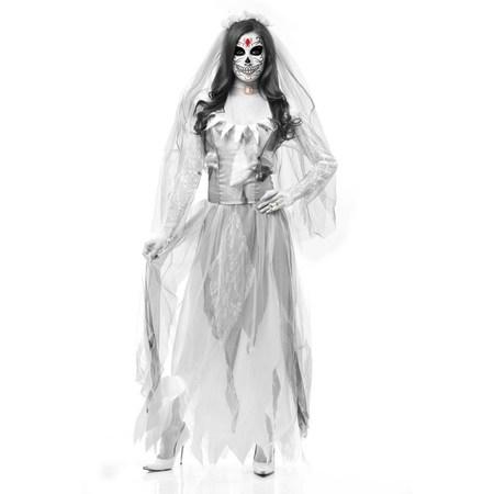Ghost Bride Costume (Halloween Ghost Bride Adult)