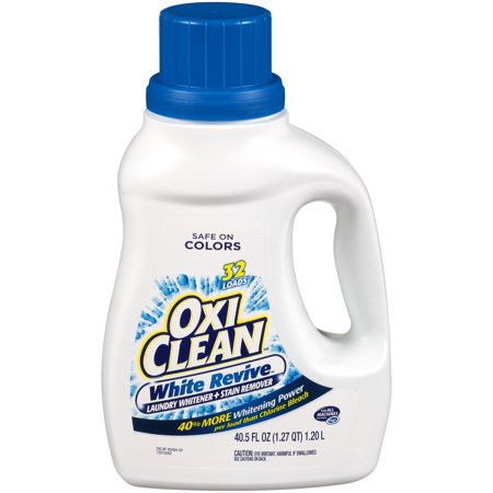 OxiClean White Revive Liquid Laundry Whitener + Stain Remover,