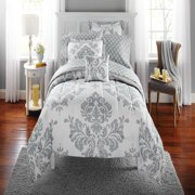 Mainstays Classic Noir Queen Bed in a Bag Coordinating Bedding Set