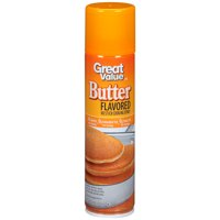 (3 Pack) Great Value Butter Cooking Spray, 8 ounces