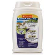 Hartz Ultra Guard Pro Triple Active Flea & Tick Shampoo for Dogs, 18 Oz