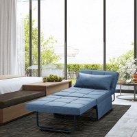 Ainfox Convertible Sofa Bed 4 in 1 Multi-Function Folding Modern Ottoman